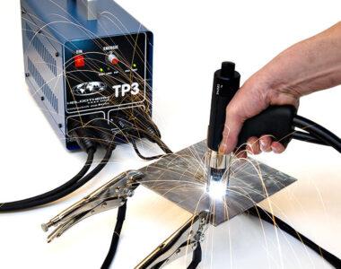 TP3 beim aufschweissen von naegel
