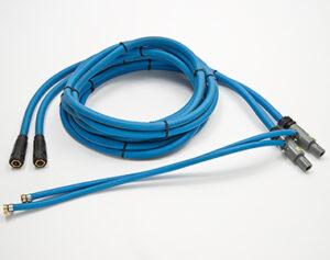 Leistungskabel wassergekühlt blau